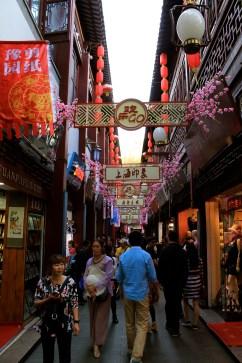 Yuyuan Garden Alleyway
