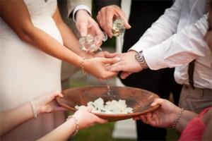 wedding washing