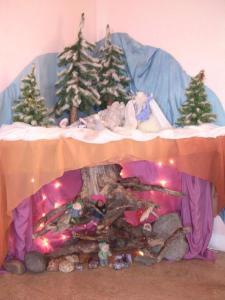 winter waldorf table