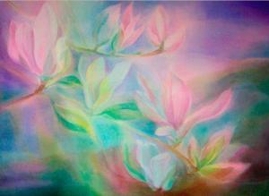 veilpaintflowers
