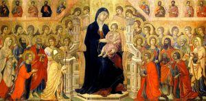 Madonna maesta Duccio di Buoninsegna