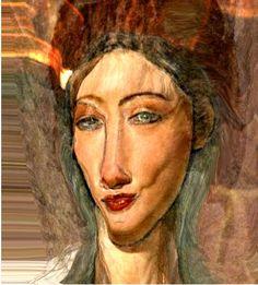 Modigliani woamns face