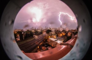 lightning fisheye