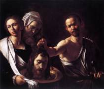 John the baptist beheading CaravaggioSalomeLondon