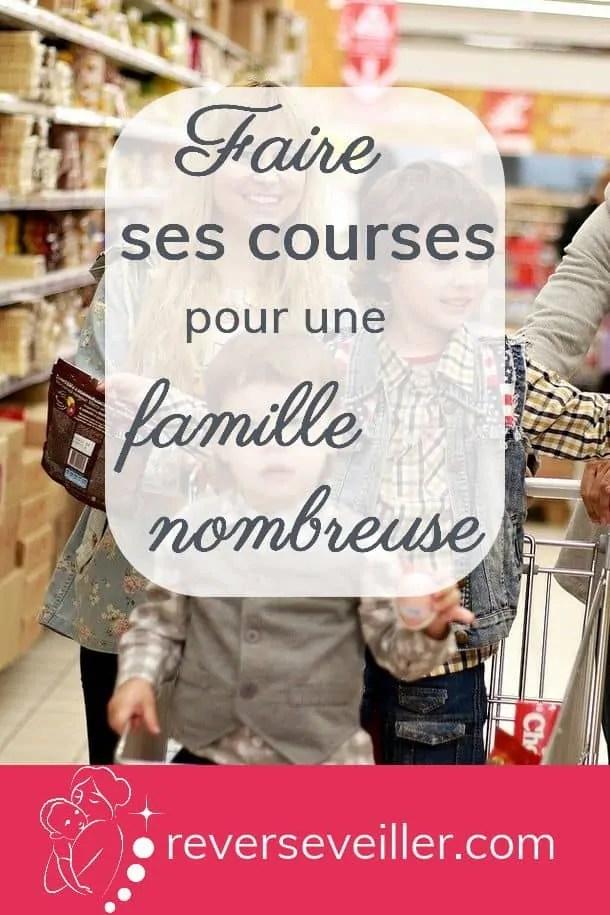Faire Ses Courses Pas Cher : faire, courses, Faire, Courses, Famille, Nombreuse, Rêver, S'éveiller