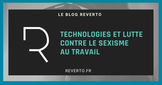 Technologies et lutte contre le sexisme au travail