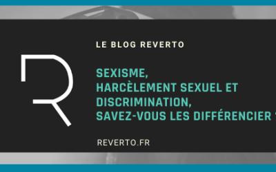 Sexisme, harcèlement sexuel et discrimination, savez-vous les différencier ?