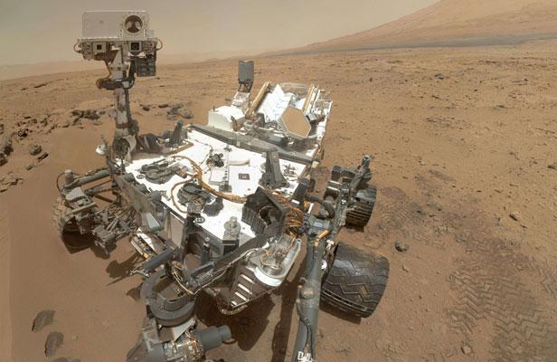Autoportrait de Curiosity sur Mars