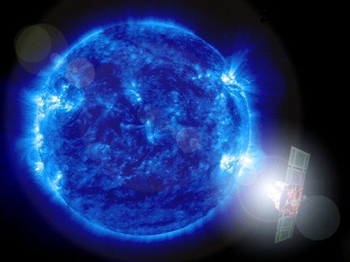 Le Soleil vu par Soho (credit ESA/NASA)