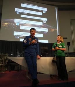 """L'astronaute Paolo Nespoli en """"guest star"""""""