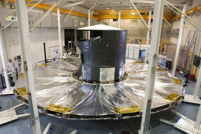 DSA déployé (source ESA/ASTRIUM)