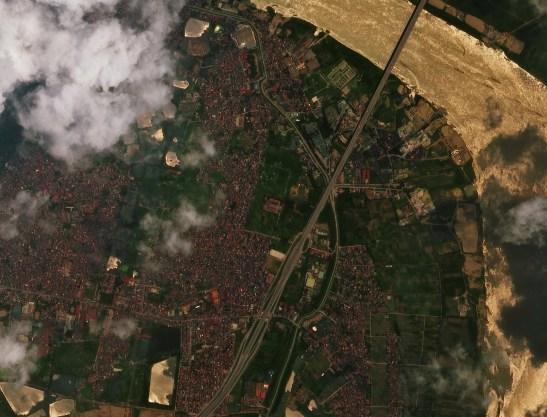 Nord d'Hanoi par VNREDsat1