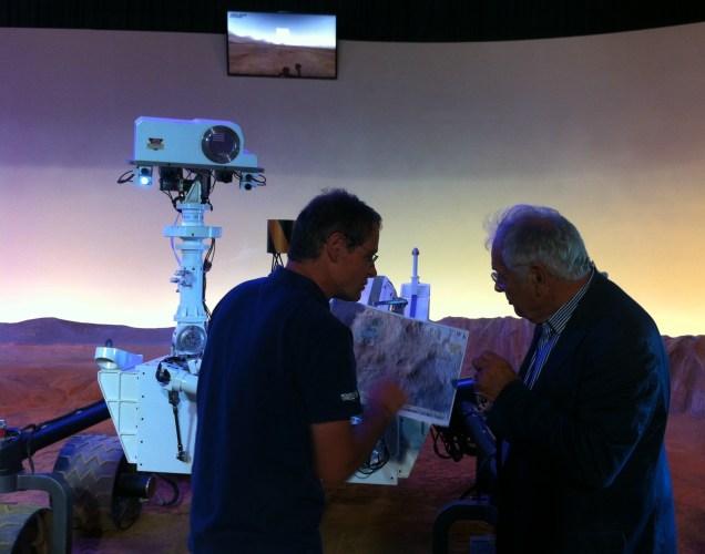 Sylvestre Maurice et Michel Chevalet en direct sur iTélé