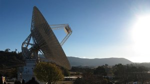 l'antenne 70m à Canberra