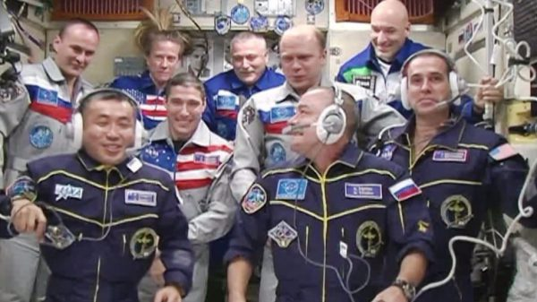 exp38 in ISS