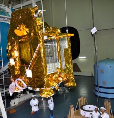 Mars Orbiter Mission à l'ISRO