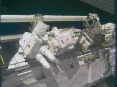 EVA 24 (source NASA TV)