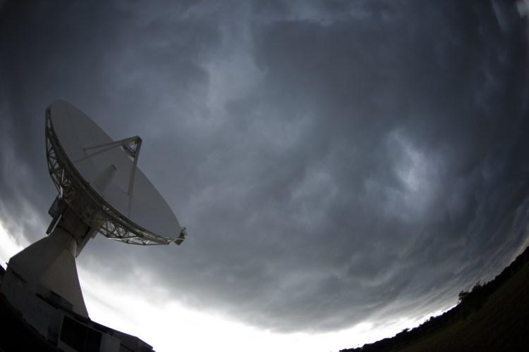 La station de suivi en orbite de Kourou (source ESA)