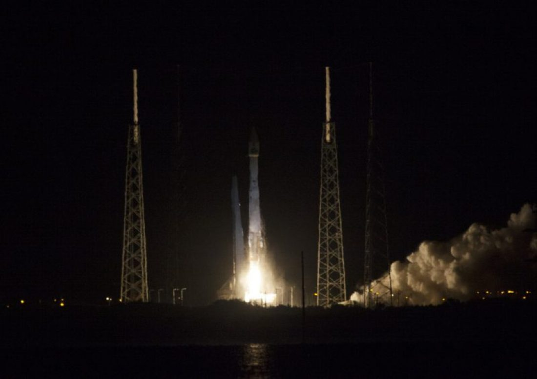 Décollage l'Atlas V emportant TDRS-L (source NASA)