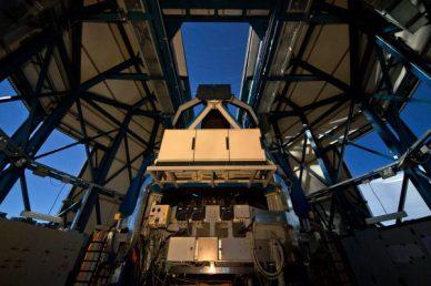 le VLT Survey Telescope (VST) au Chili (source ESO)