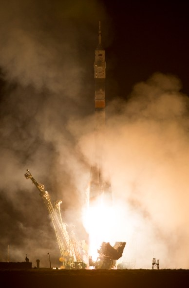 Expedition 39 Launch