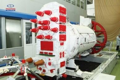 Un satellite Glonass-M (source ISS Reshetnev, fabricant )