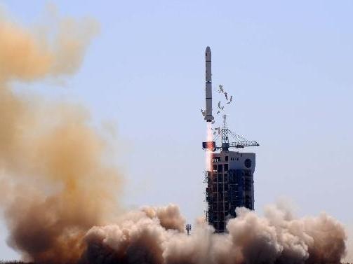Lancement du satellite Shijian 11-06 (©Xinhua)