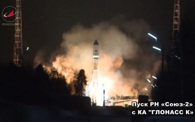 Décollage de la Soyouz 2-1b le 23/03/14 depuis Pletsek (source Roscosmos)