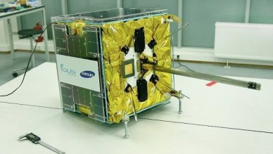 Le premier satellite russe privé DX1 (© Dauria Aerospace)