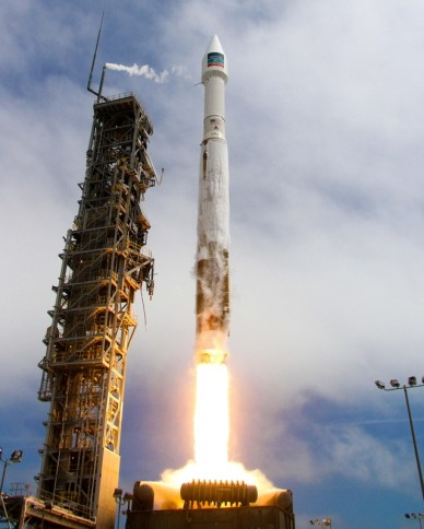 13/08/14 lancement d'une Atlas V depuis Vandenberg. Mise sur orbite de WorldView-3. (Photo: United Launch Alliance)