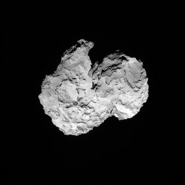 Comet 67P on 7 August 2014 – NAVCAM
