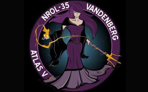 logo de la mission NROL-35