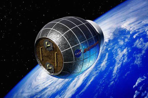 Vue d'artiste du Bigelow Extensible Activity Module (BEAM), actuellement prévu pour être ajouté à la Station Spatiale Internationale en 2015. (Crédit: Bigelow Aerospace)