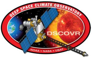 logo de la mission DSCOVR