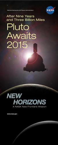 New Horizons arrivera à destination en 2015 : Pluton (crédit NASA)