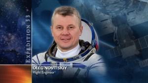 Oleg Novitskiy, Exp33/34 (crédit NASA)