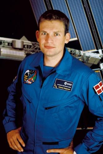 L'astronaute danois de l'ESA Andreas Mogensen. Crédits : ESA
