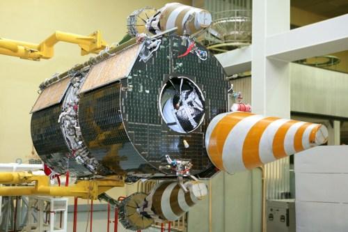 Un satellite Gonets-M (Photo: Roscosmos)