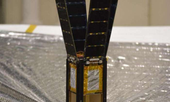 "Le cubesat emportant ""LightSail"" (Credit: Planetary Society)"