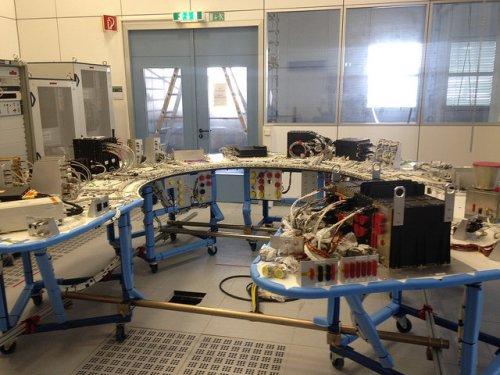 L'AVM (AVionic Model) de Gaia est arrivé à l'ESOC fin juin 2015 (Credit ESA)