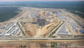 Construction du site de lancement russe Vostochny (source Russianspaceweb)