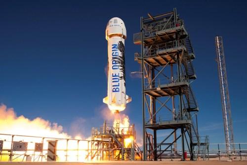 Le lanceur New Shepard de Blue Origin a décollé à nouveau le 22/01/16 (credit Blue Origin)