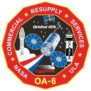 Logo de la mission Cygnus OA-6 / Atlas V