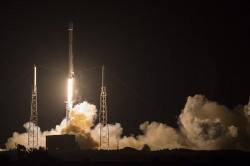 Lancement Falcon 9 / JCSat du 06/05/2016 (credit SpaceX)