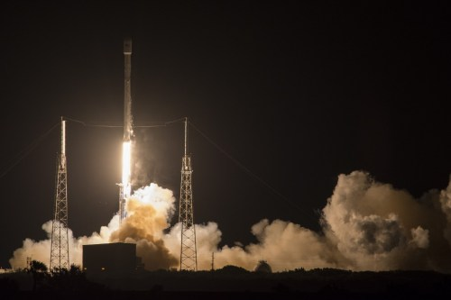Lancement Falcon 9 / JCSat du 06/05/2016 (credit SpaceX)