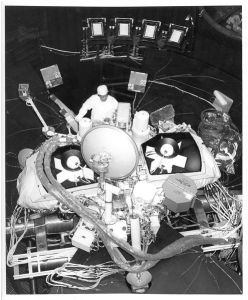 Viking 1 en test chez Martin Marietta (ex Lockheed-Martin) le constructeur (credit NASA)