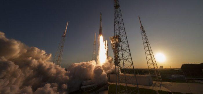 Lancement d'OSIRIS-Rex le 08/09/2016 à bord d'une Atlas 5 (Credit: ULA)