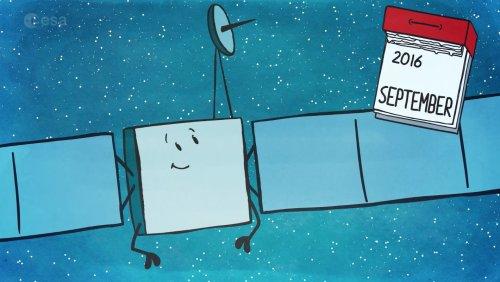 Fin de mission pour Rosetta en septembre (credit ESA)