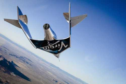 "Premier vol ""libre"" du SpaceShipTwo ""VSS Unity"" de Virgin Galactic (credit Virgin Galactic)"