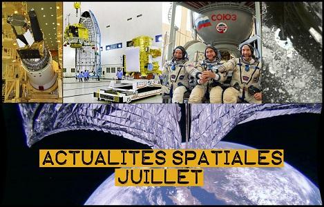 [video] Actualités spatiales de juillet